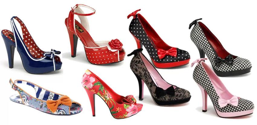 Pin-up-обувь