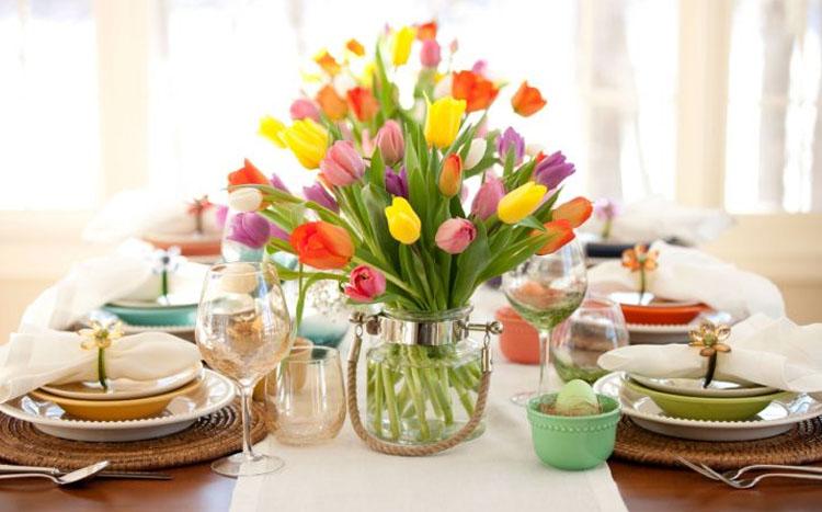 Подарок для мамы на 8 марта ваза с цветами