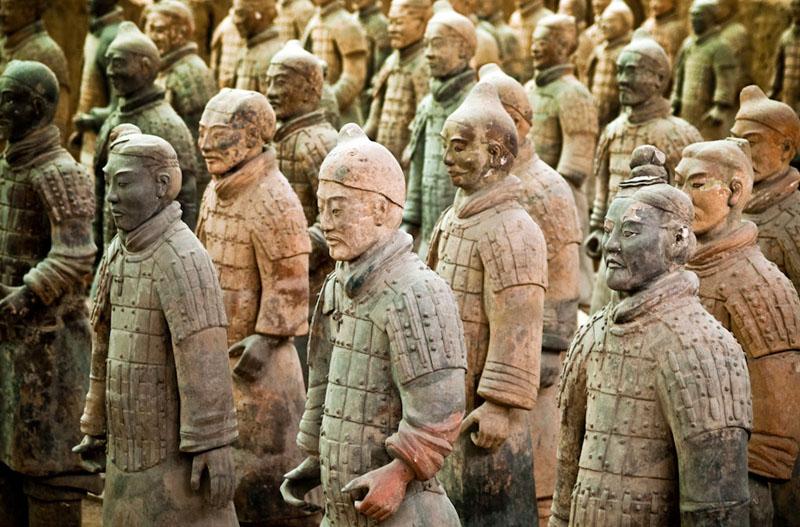 Музей терракотовых воинов в Китае