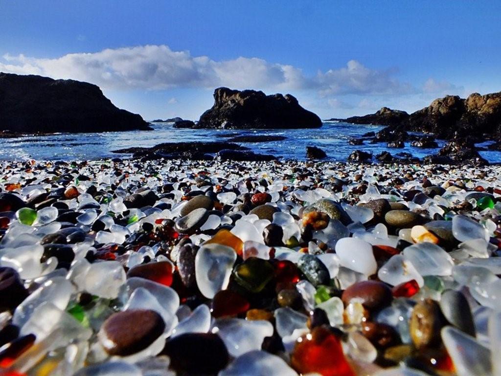 Стеклянный пляж Калифорния
