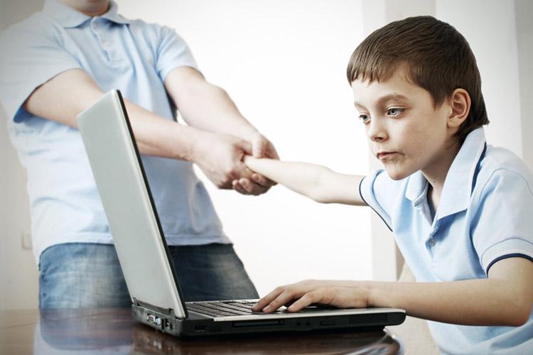 Дети и время в интернете