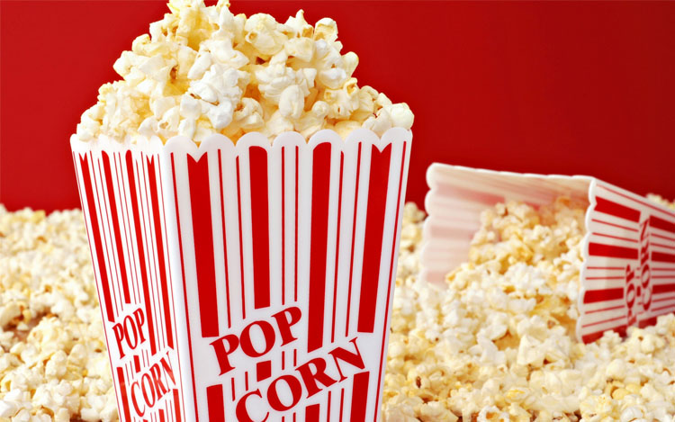 10 вариантов перекуса попкорн