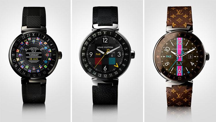 Louis Vuitton умные смарт часы 3 ремешка