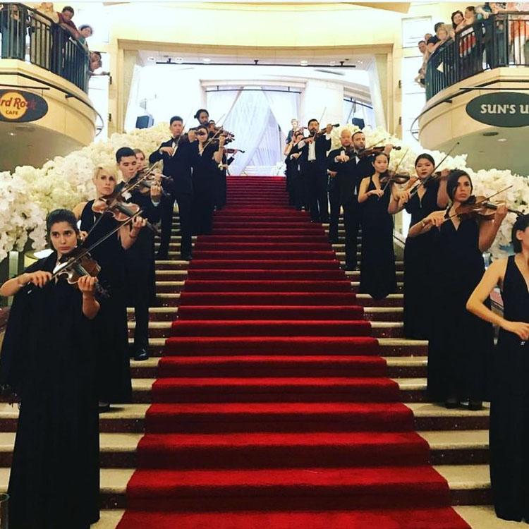 Свадьба года в Лос-Анджелесе Долби Театр