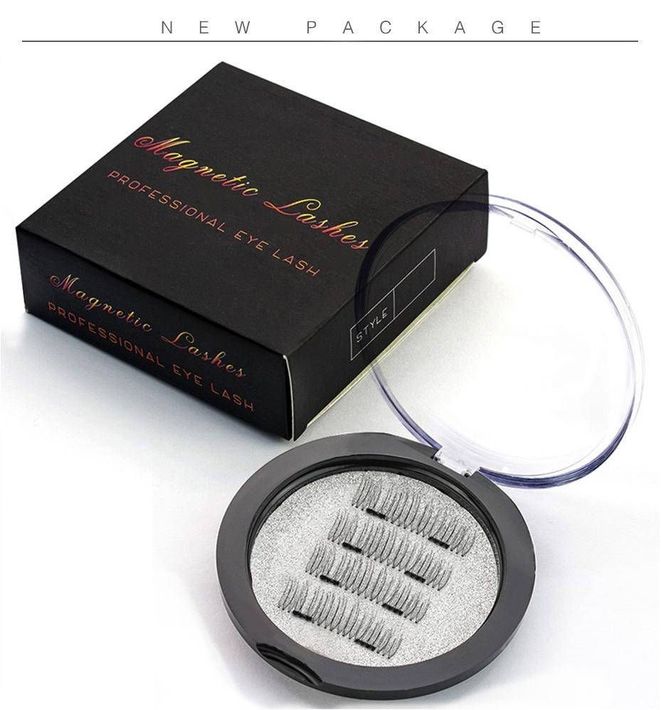 Магнитные ресницы в коробке