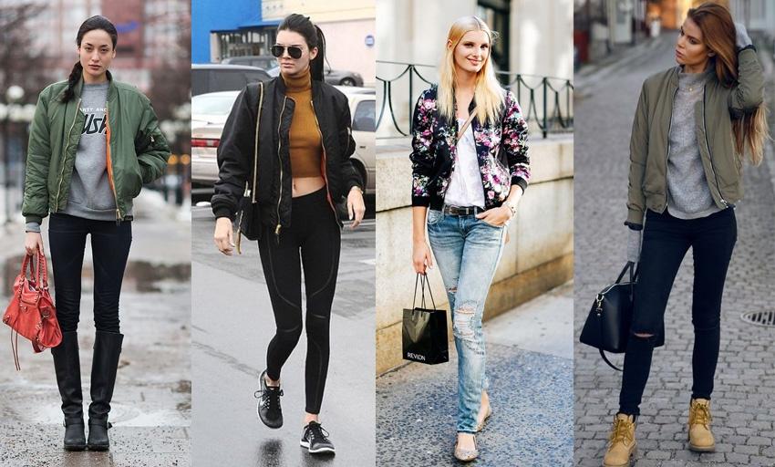 Модные тренды 2018 - Куртка Бомбер