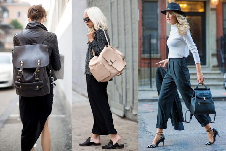 Модные тренды 2018 - Рюкзаки