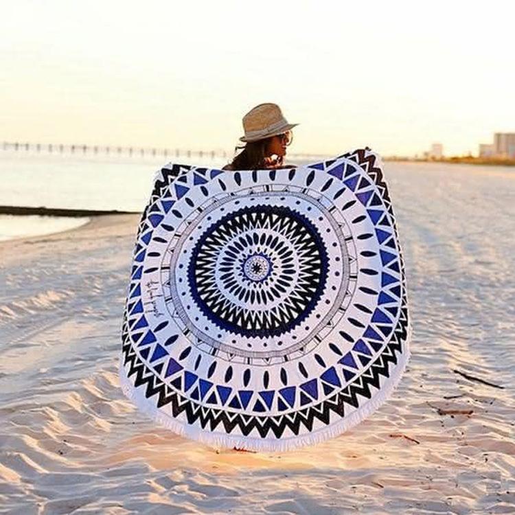 Круглое полотенце