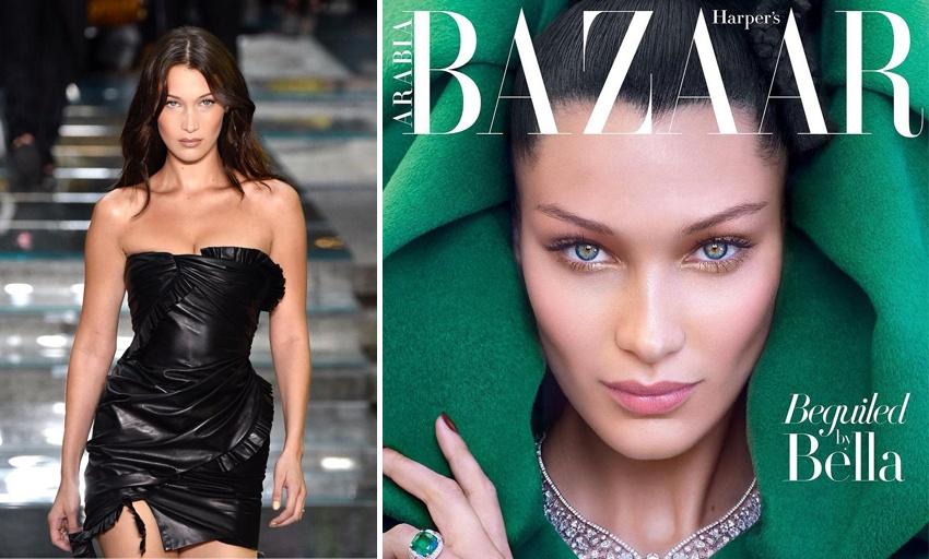 Лучшие топ-модели 2018 Bella Hadid
