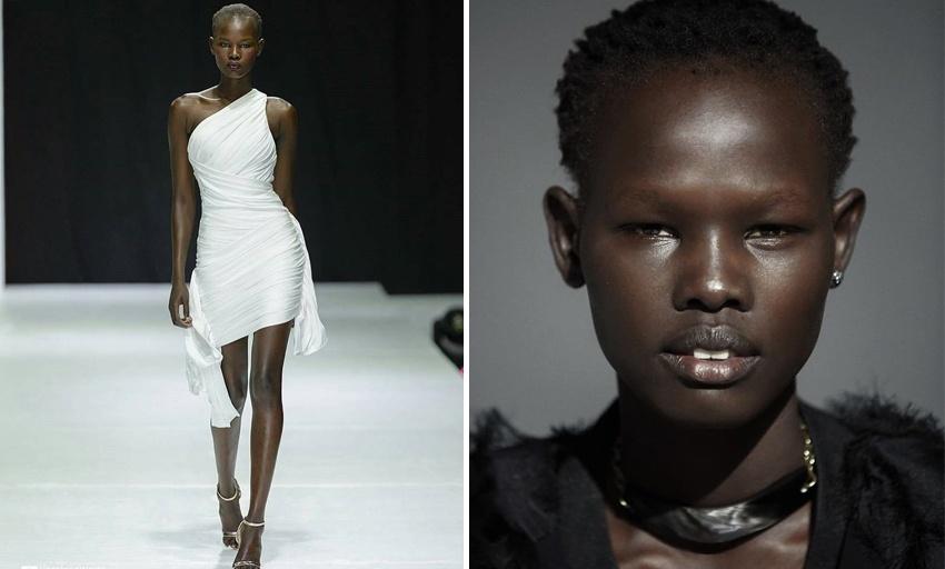 Лучшие топ-модели 2018 Shanelle Nyasiase
