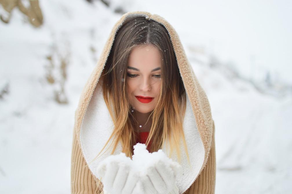 Зимний уход за кожей волосами и лицом