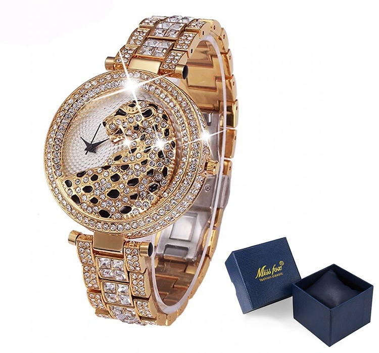Часы леопардовые