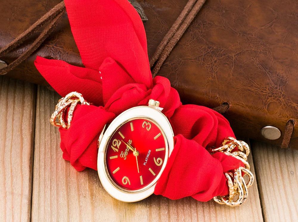 Часы с ленточным ремешком
