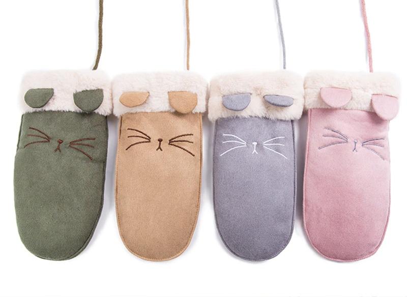 Варежки с котиками -4