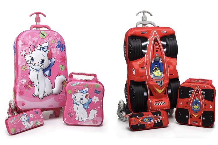 Чемодан на колесах 15 детский