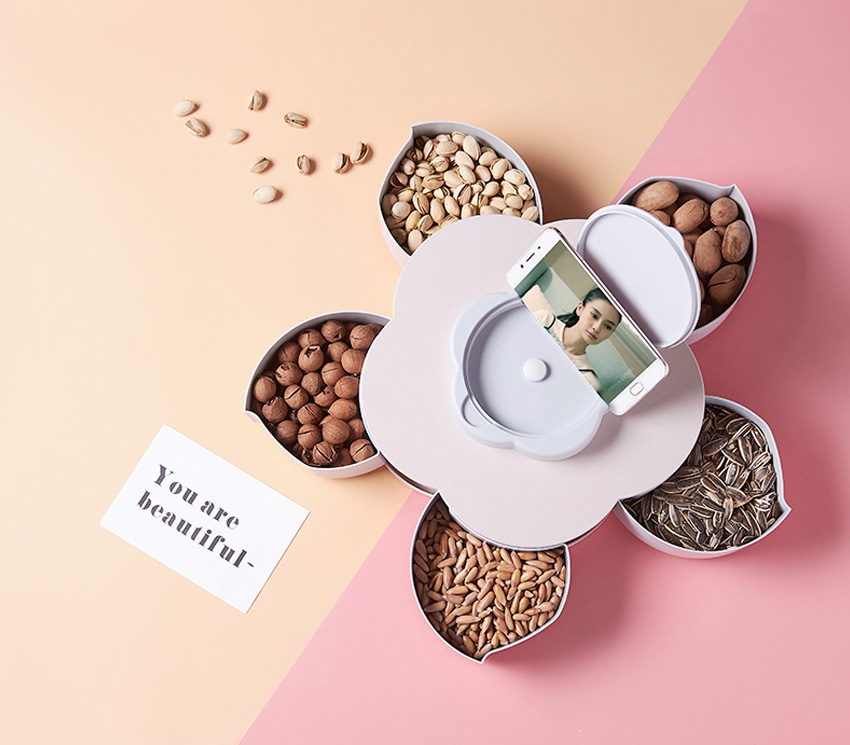 Контейнер для закусок и орехов