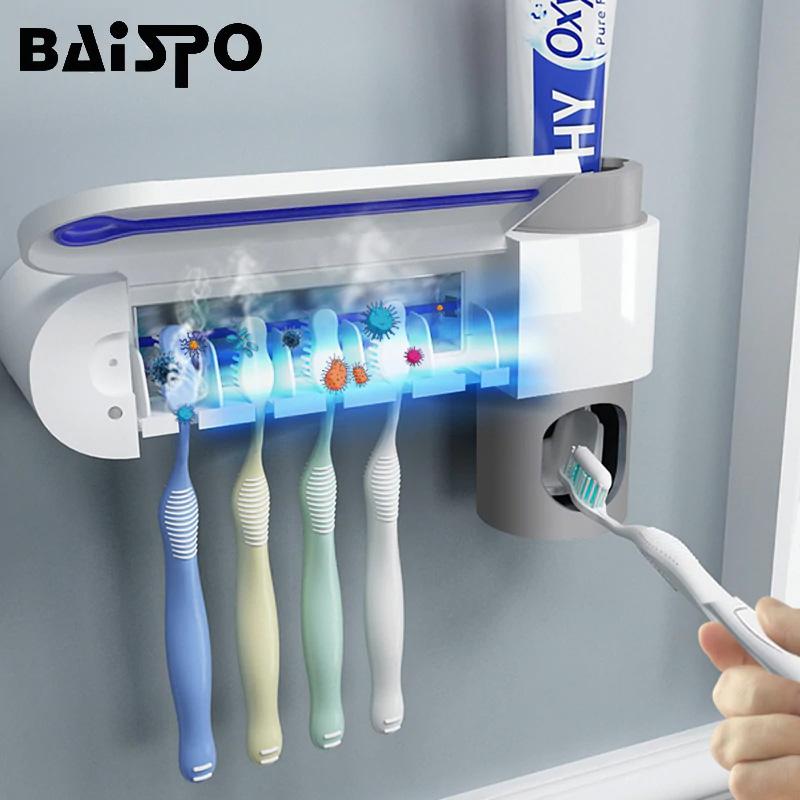 Держатель для пасты и зубной щетки