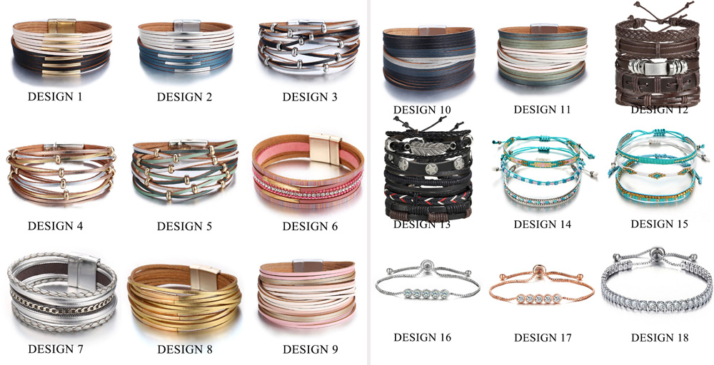Женские браслеты на Алиэкспресс