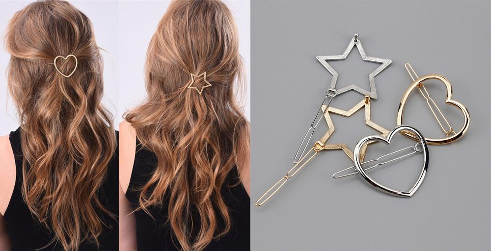 Заколки для волос с Алиэкспресс