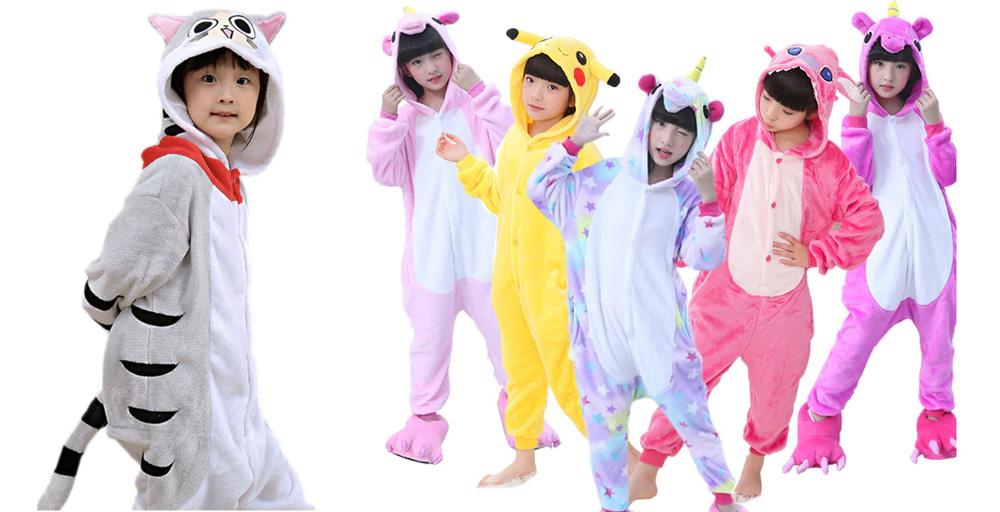 Пижамы кигуруми Единорог и другие