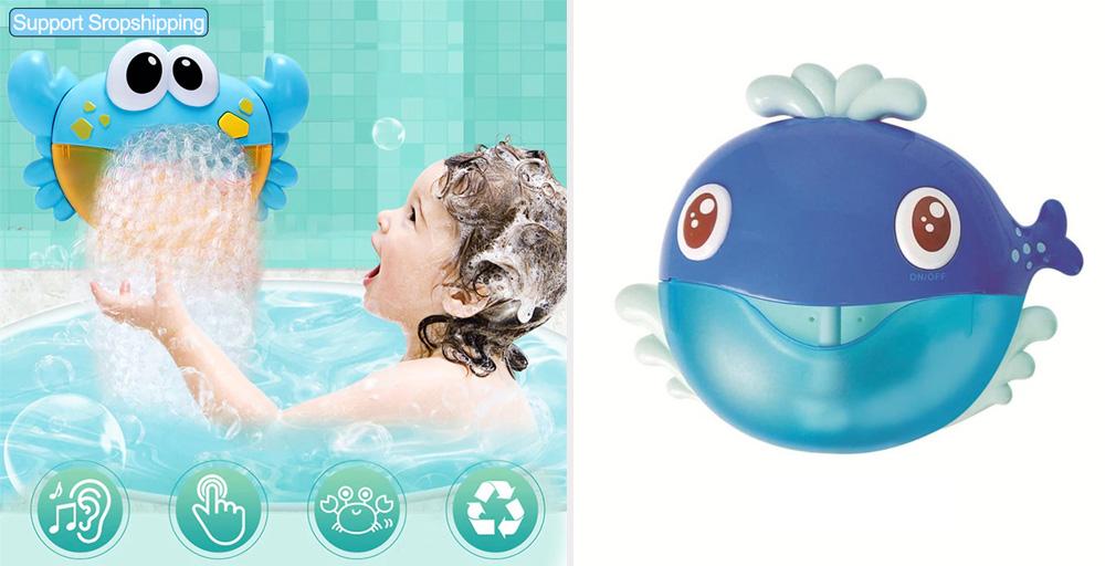 Пузырьки для ванной