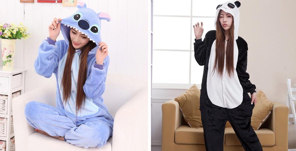 Женские пижамы кигуруми