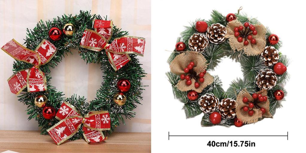 Рождественский венок к Новому году