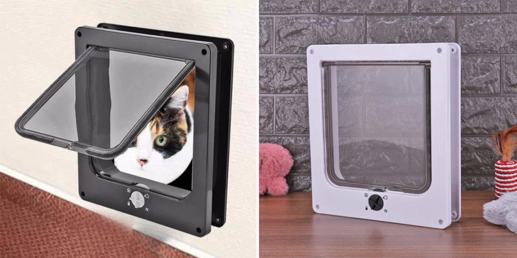 Дверное окно для кошек и собак