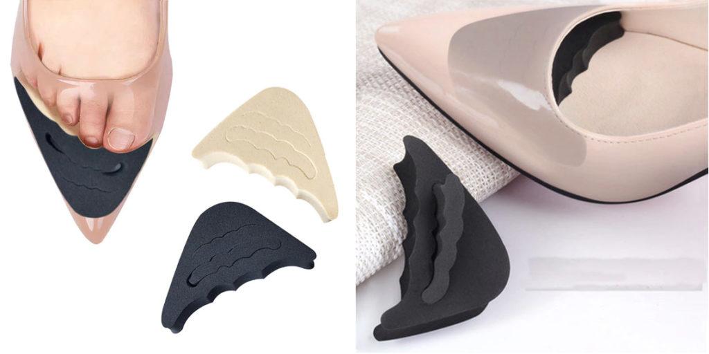 Подушка для пальцев ног в обувь