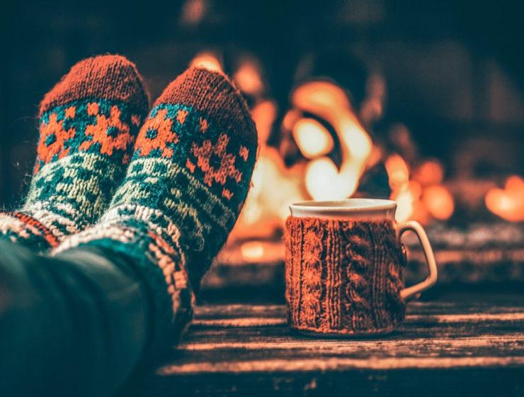 Теплые женские носки с алиэкспресс