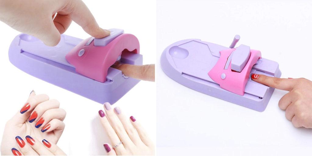Машинка для печати на ногтях