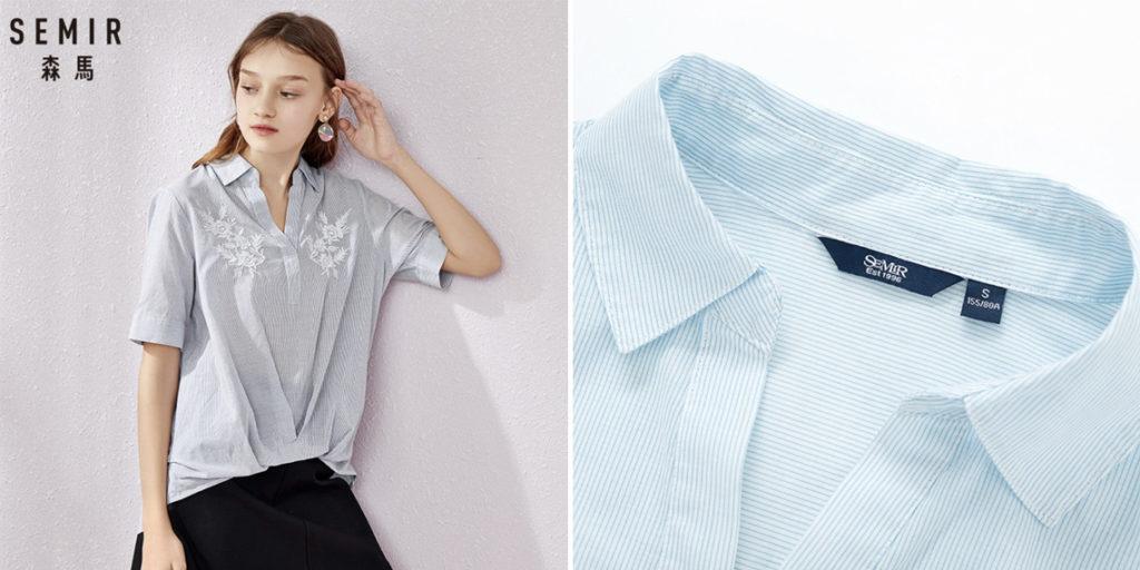 Semir женская шифоновая блузка