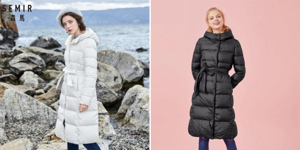 Semir женское пуховое пальто
