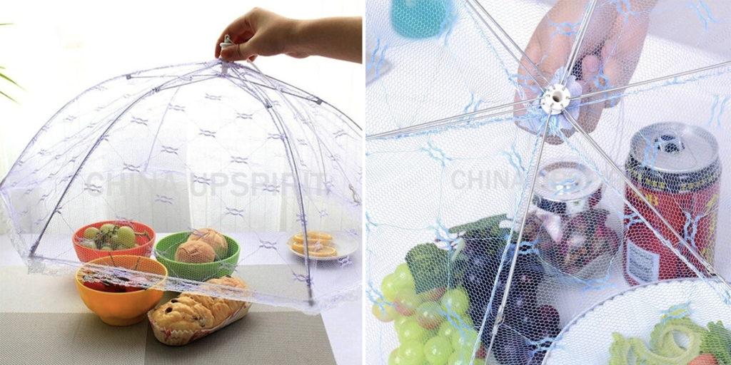 Сетка для продуктов на пикнике