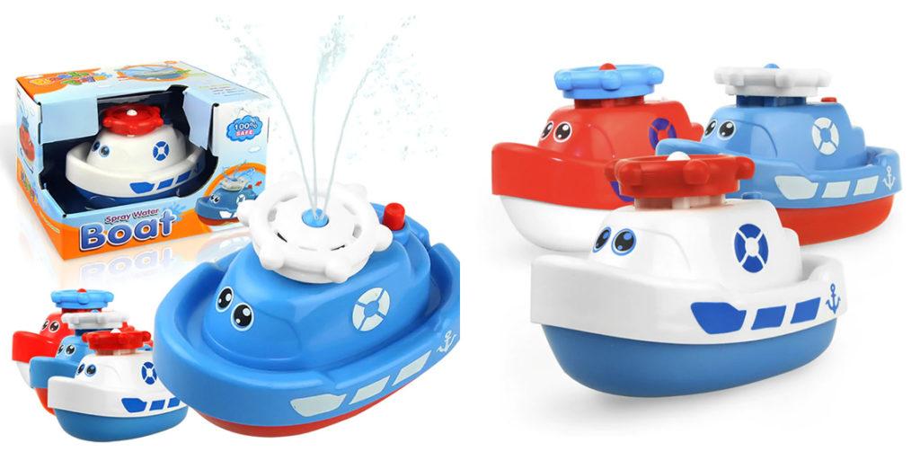 Детский кораблик для ванной