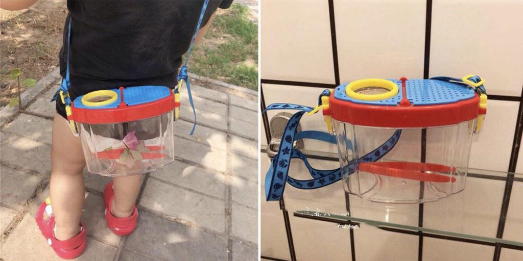Детская сумка для насекомых