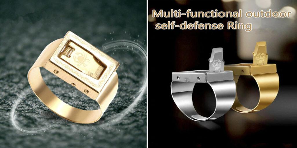 Кольцо для самозащиты