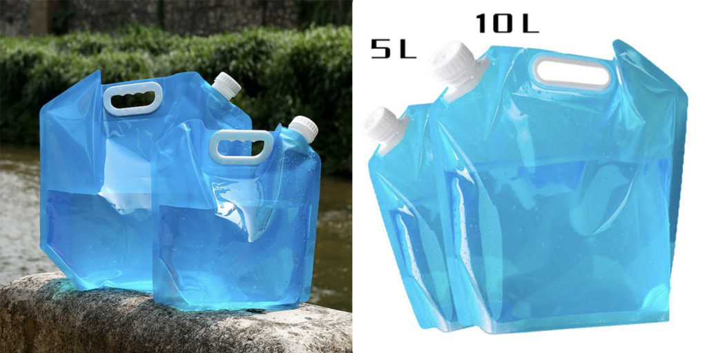 Мягкая канистра для воды