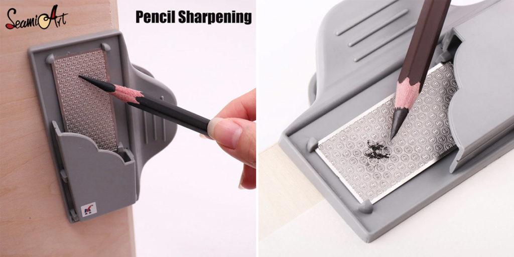 Зажим для заточки карандашей