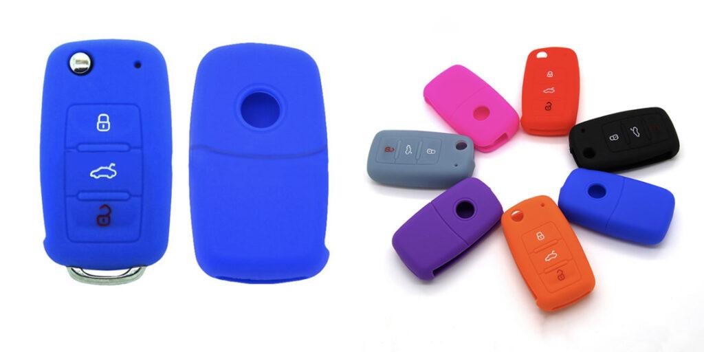 Силиконовый чехол для автомобильных ключей