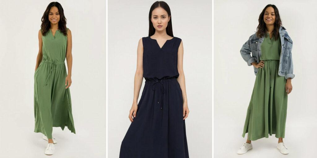 Вискозное платье Finn Flare