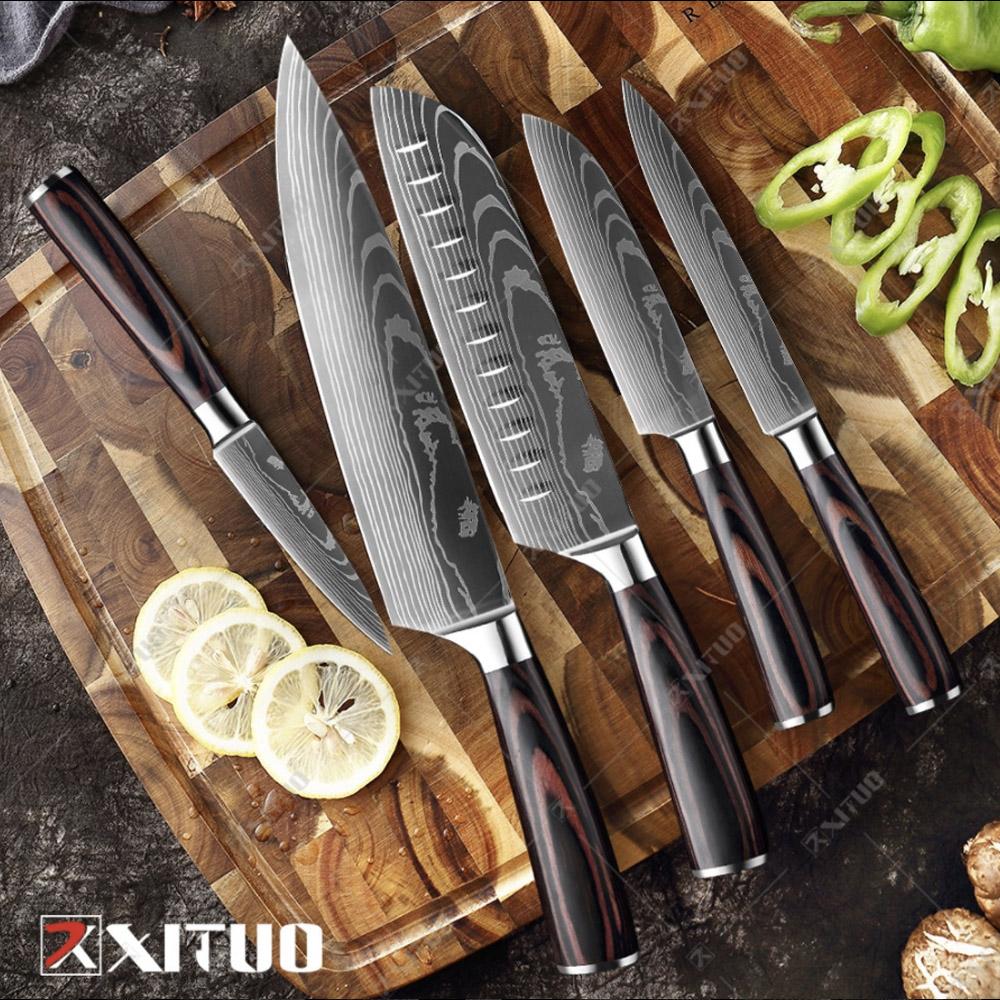 Японские ножи с Алиэкспресс
