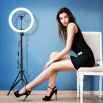 Кольцевая лампа с Алиэкспресс