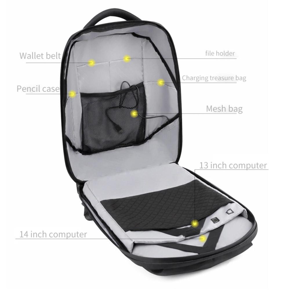 Рюкзак с Лэд экраном карманы