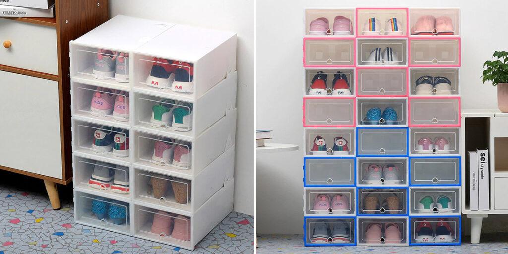 Коробки контейнеры для обуви
