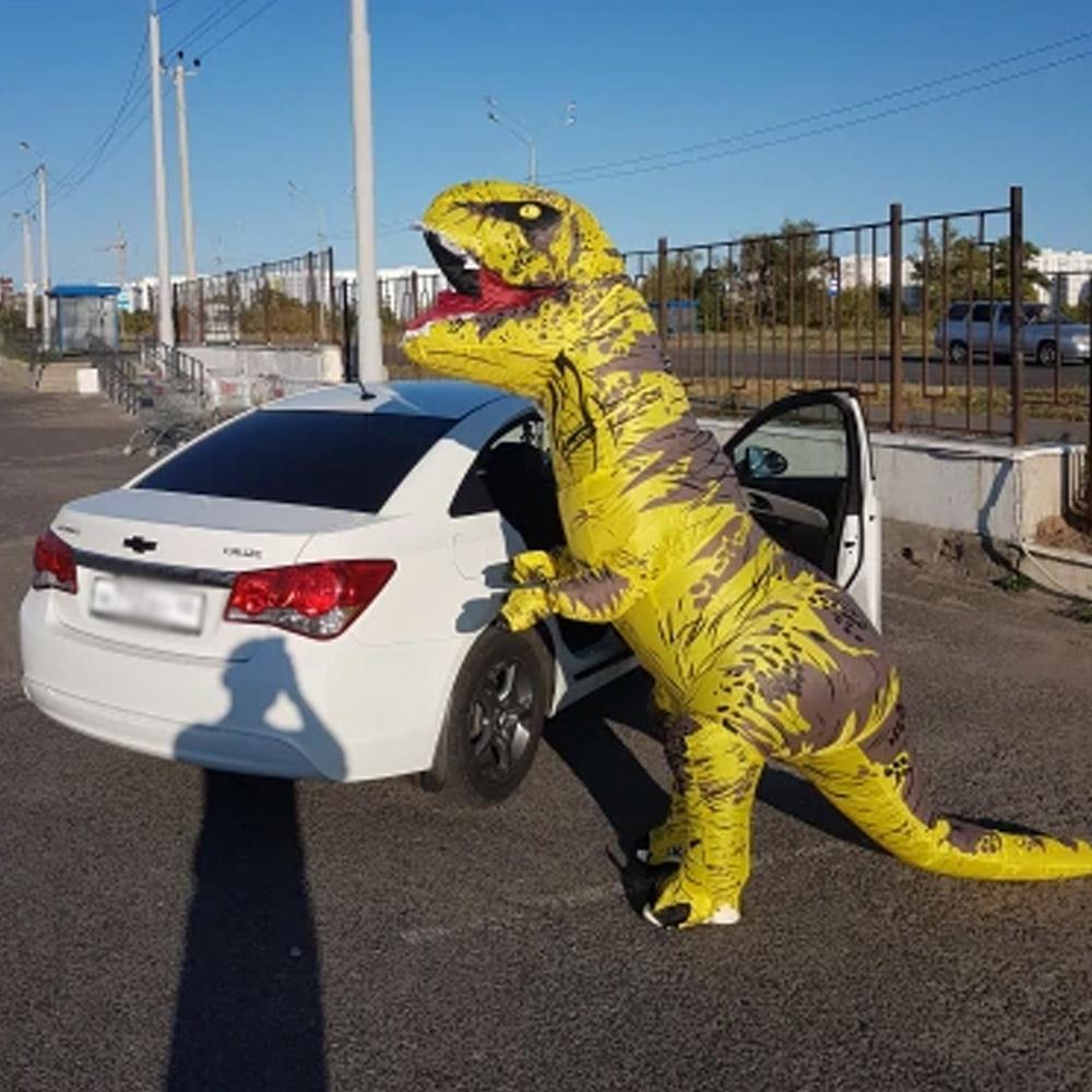 Костюм динозавра Т-рекс