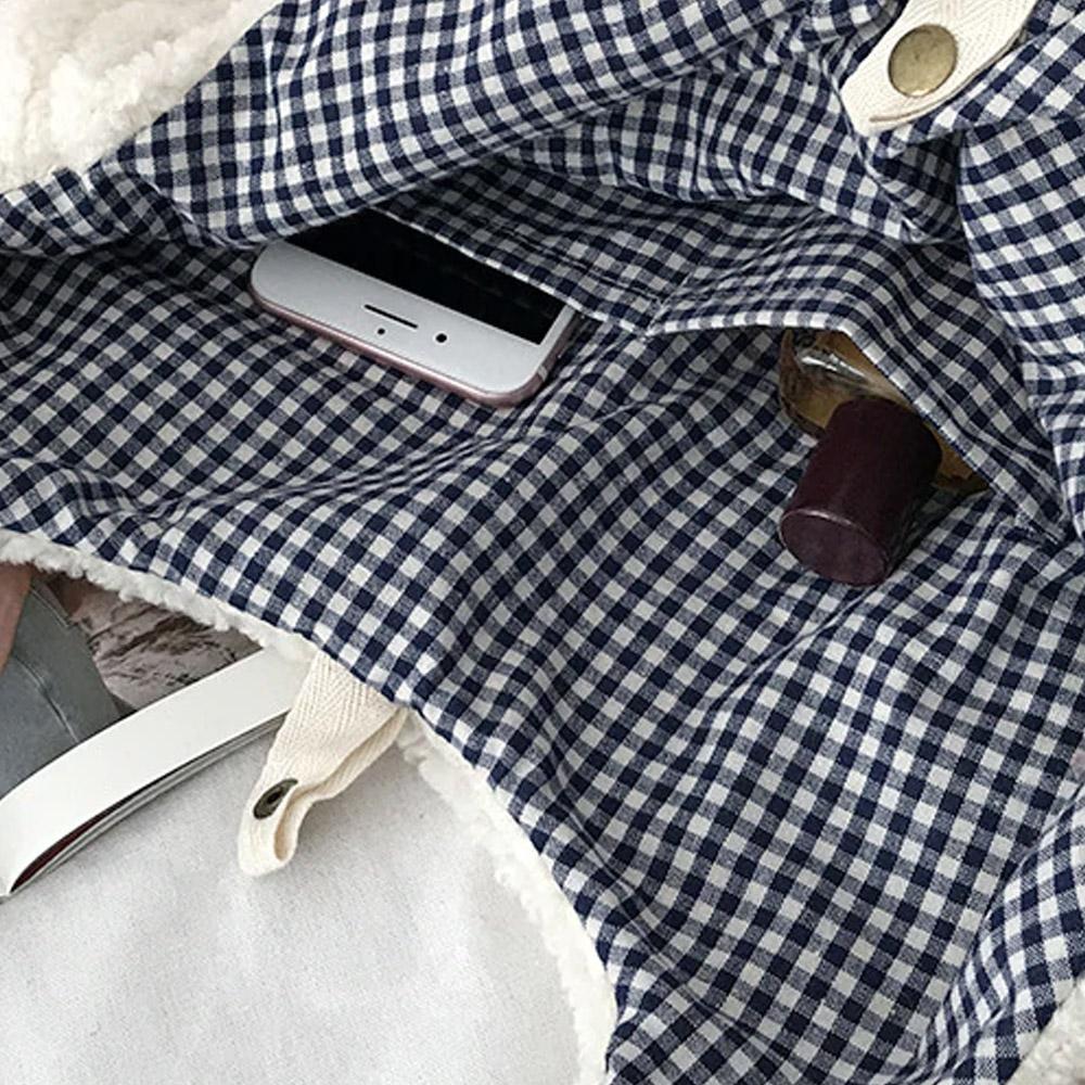 Сумка шоппер с карманами