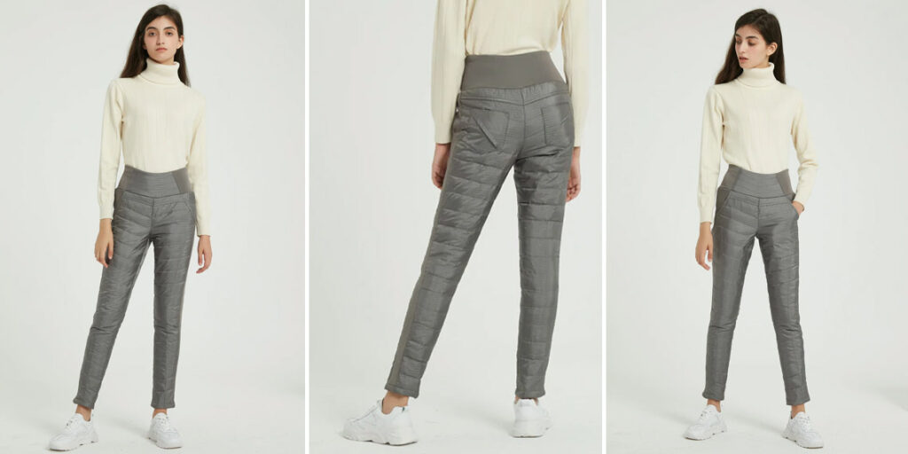 Теплые женские штаны Wixra