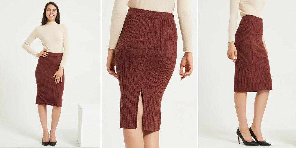 Трикотажная юбка Wixra