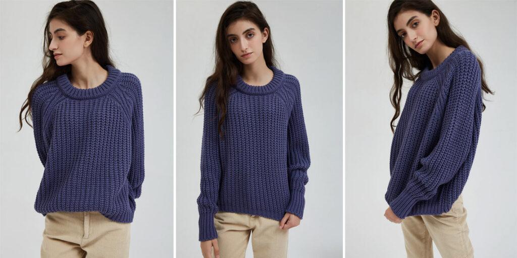 Вязаный свитер Wixra